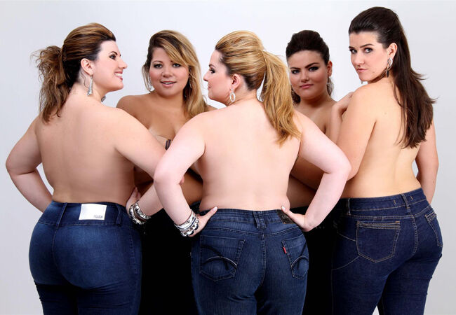Молодые полные девушки фото