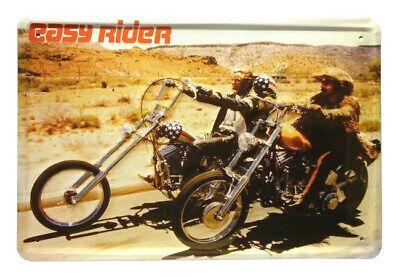 Blechschild 20x30 Easy Rider USA Route 66 Motorrad Biker Chopper Bar Kneipe Club Easy Chopper