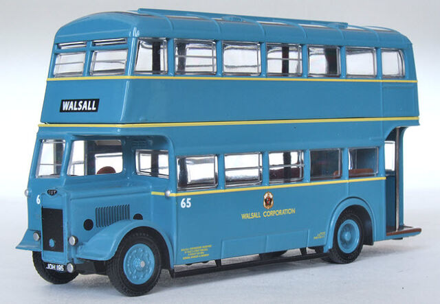 # 26323 EFE Guy Arab II Utility Double Deck Bus Walsall Corporation 1:76 Diecast
