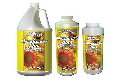 General Hydroponics Floralicious Plus - organic enhancer ...