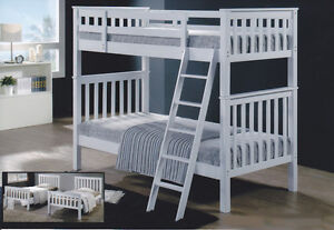 Bunk Bed - Hardwood- Twin/Twin - Comox - By Bunk Beds Canada