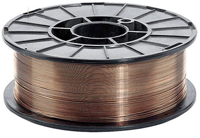 WELDING COPPER COATED MIG WIRE 0.6 MM 0.7KG MILD STEEL COIL METAL SPOOL ROLL