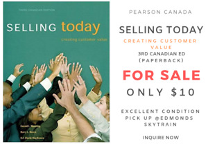 Selling Today, Creating Customer Value - 3rd Canadian ✏️✔️