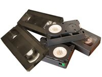 VHS video transfers to hard drives