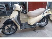 Piaggio Liberty 50cc learner legal scooter led moped 2 stroke T2 2T