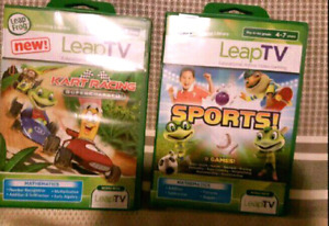Leap TV GAMES BRAND NEW