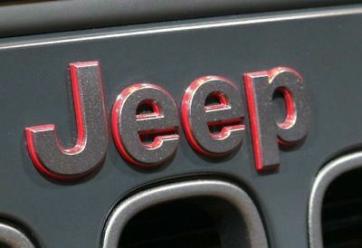 2017 Jeep Rubicon Recon Edition Emblem Namplate Factory Mopar New OEM Grille