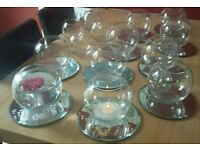 Table centre pieces, 10 sets
