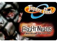Thorpe park(fright night)