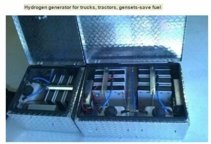 Hydrogen Fuel cell or system - boats , trawlers, generators