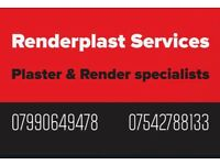 RENDERPLAST 25+ years time served plaster & render specialist