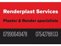 25yrs+ time served plasterers RENDERPLAST