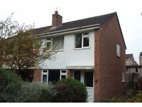 Semi Detached House for Rent 3beds Garage Parking Small Garden. Part Furnished