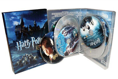 Harry Potter Season 1-8 (DVD,2011,8-Disc Set) Brand New Complete Collection