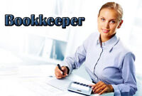 I offer professional bookkeeping services