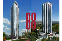 33rd Floor Brand New 1 Bed Condo - 88 Sheppard by Minto