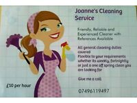 Experienced Cleaner, Clacton and Surrounds