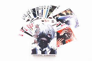 Anime Tokyo Ghoul Kaneki ken 54pcs Playing Card Deck Poker Toy New In Box