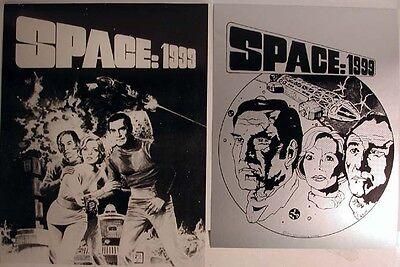 Space:1999 Vintage Promo Poster Set of 2- UNUSED!