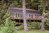 Waterfront Cottage for Rent - Bancroft