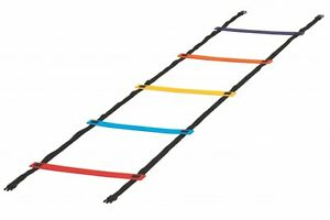 Cs/6 New Sportime 29-1/2 ft x 16-1/2 in Anti-Skid Agility Ladder