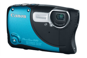 Canon Waterproof/SP PowerShot D20 Point and Shoot Digital Camera