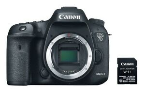 Canon 7DMKII DSLR Camera with WiFi  and GPS