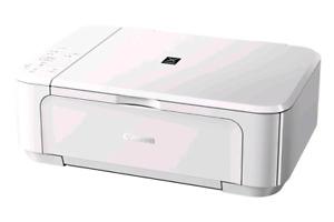 PIXMA white inkjet PIXMA white inkjet printer works perfectly in