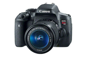 Canon Rebel T6i DLSR Camera +  Lenses for Sale