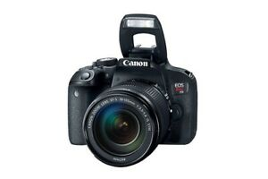 Brand new - Canon EOS Rebel T7i DSLR  18-135mm f/3.5-5.6 IS STM