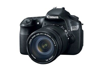 Canon EOS 60D 18.0MP Digital SLR Camera - Black (Body And Battery Grip!)