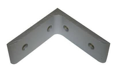 8020 Equivalent Aluminum 4 Hole Inside Corner Bracket 15 Series 4301