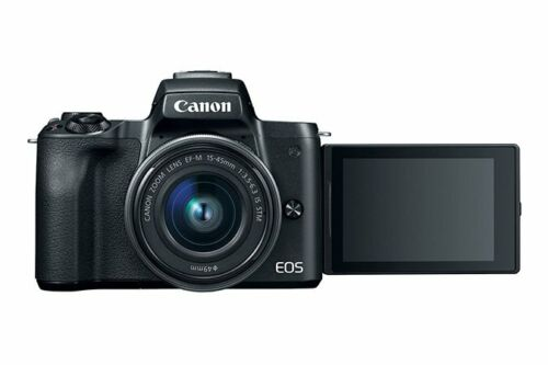 как выглядит Canon - EOS M50 Mirrorless Camera with EF-M 15-45mm f/3.5-6.3 IS STM Zoom US 3 фото