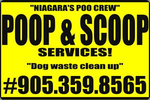 Poop & Scoop Services ~ Dog Waste Cleanup