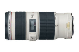 Mint condition Canon Zoom Lens 70-200mm with Image Stabilizer F4