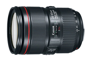 BRAND NEW SEALED CANON EF 24-105mm f/4L IS II USM LENS 850$ FLAT