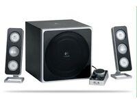 Logitech 40watt speaker system