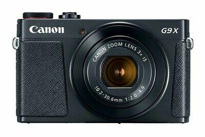 Canon PowerShot G9 X Mark II 20.1 MP Digital Camera - Black