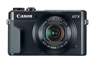 Canon Powershot G7 X Mark II Black Digital Camera Japan Domestic Version New