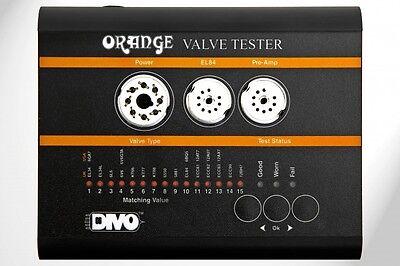 Orange Amplifiers Divo Vt-1000 Portable Tube Valve Tester