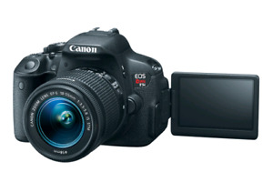 Canon T5i + 18-55mm is stm (photo + video) kit complet Low Shutt