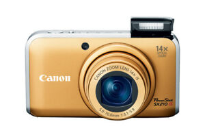 Canon PowerShot SX210IS 14.1 MP Digital Camera  HD 720 VIDEO