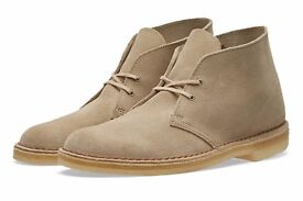 Suede Desert Boots (Classic)