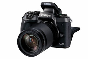 Canon EOS M5 Mirror-less Camera with 18-150 mm lens