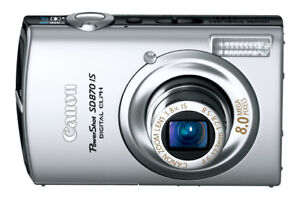 Canon Power Shot SD 870 iS