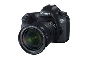 Canon EOS 6D DSLR Camera with 24-105mm IS USM Lens Kit