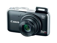 Canon PowerShot SX230HS 12.1MP Digital Camera and Charger