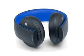 PS4 wireless headset