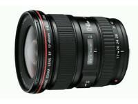 Canon 17-40 L Lens
