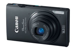 Canon PowerShot ELPH 320 HS 16.1 MP with HD Video Record + Wi-Fi
